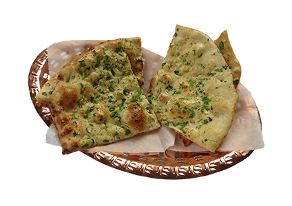 Garlic-Cilantro Naan Recipe — Dishmaps